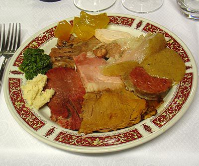 Il Bollito Misto, or North Italian Boiled Dinner