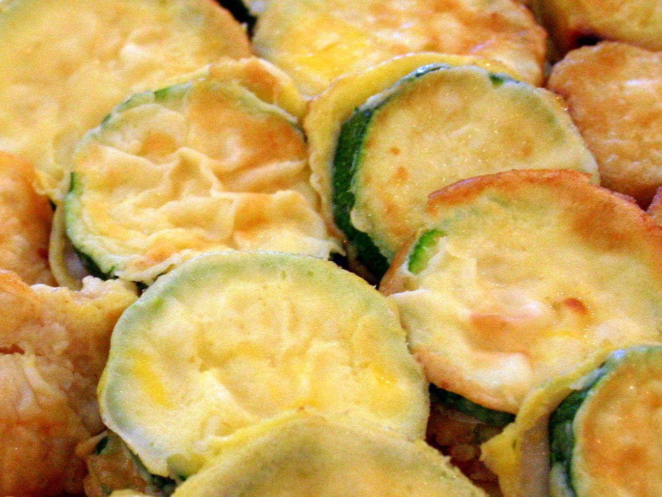Korean Fried Zucchini Hobak Jun Recipe