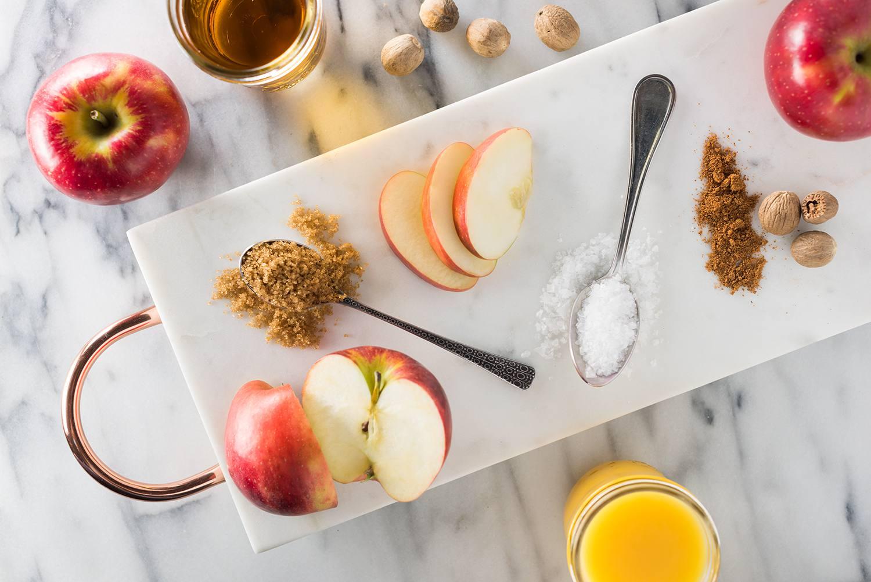 ingredients for apple spice turkey brine