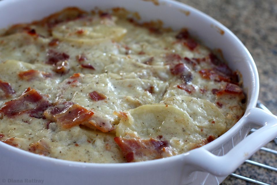Scalloped Potatoes With Bacon