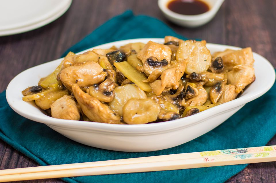 Receta china de Moo Goo Gai Pan