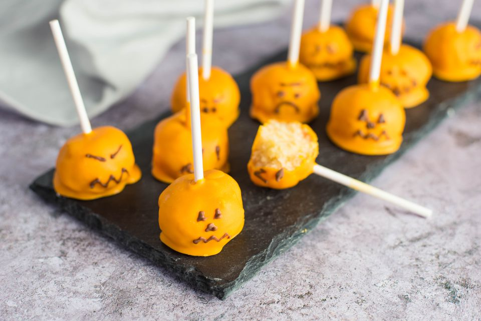 Pumpkin cake pop recipe