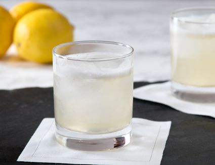Classic Gin Sour Cocktail