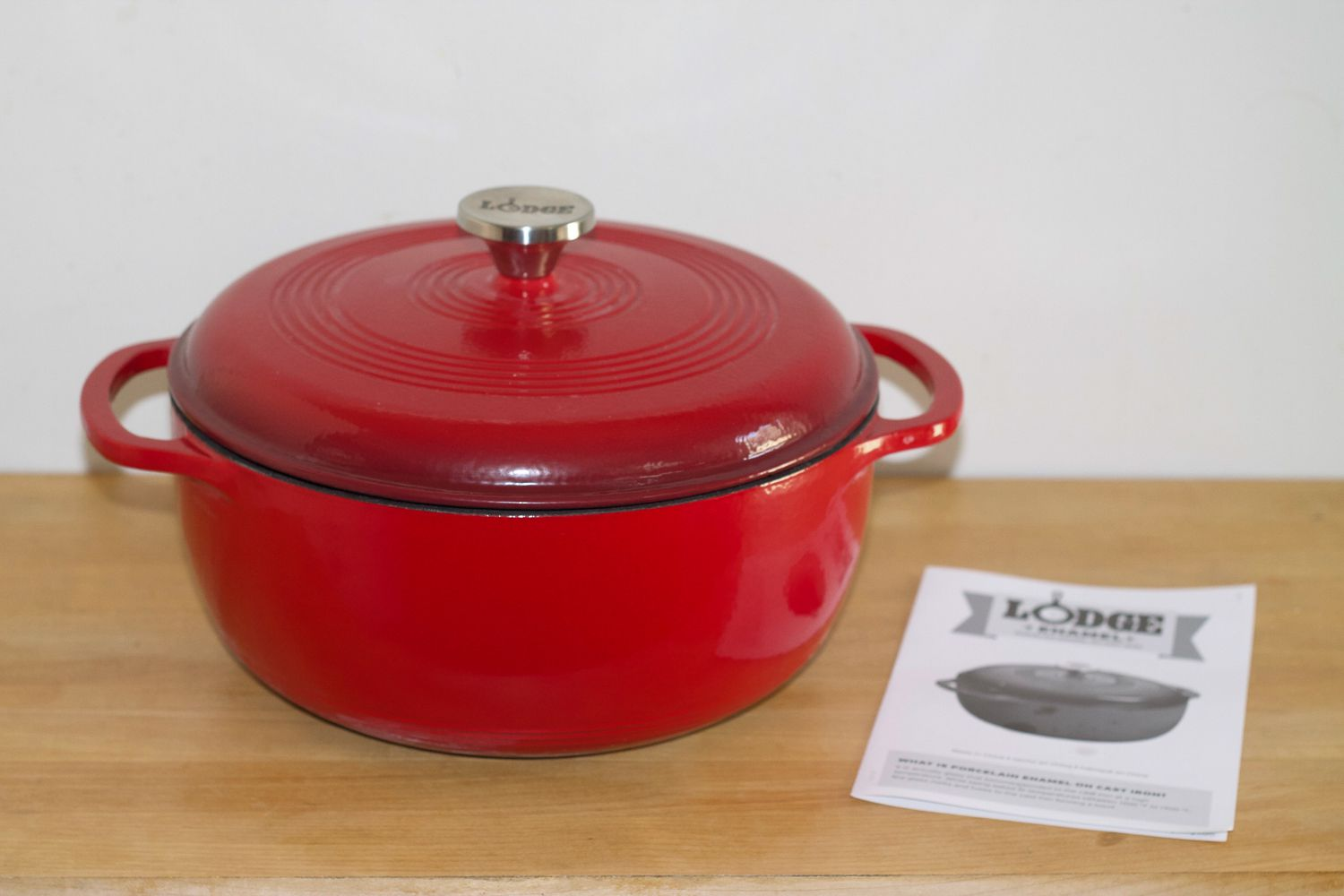 Lodge Enameled Cast Iron Dutch Oven Review High Quality Low Cost
