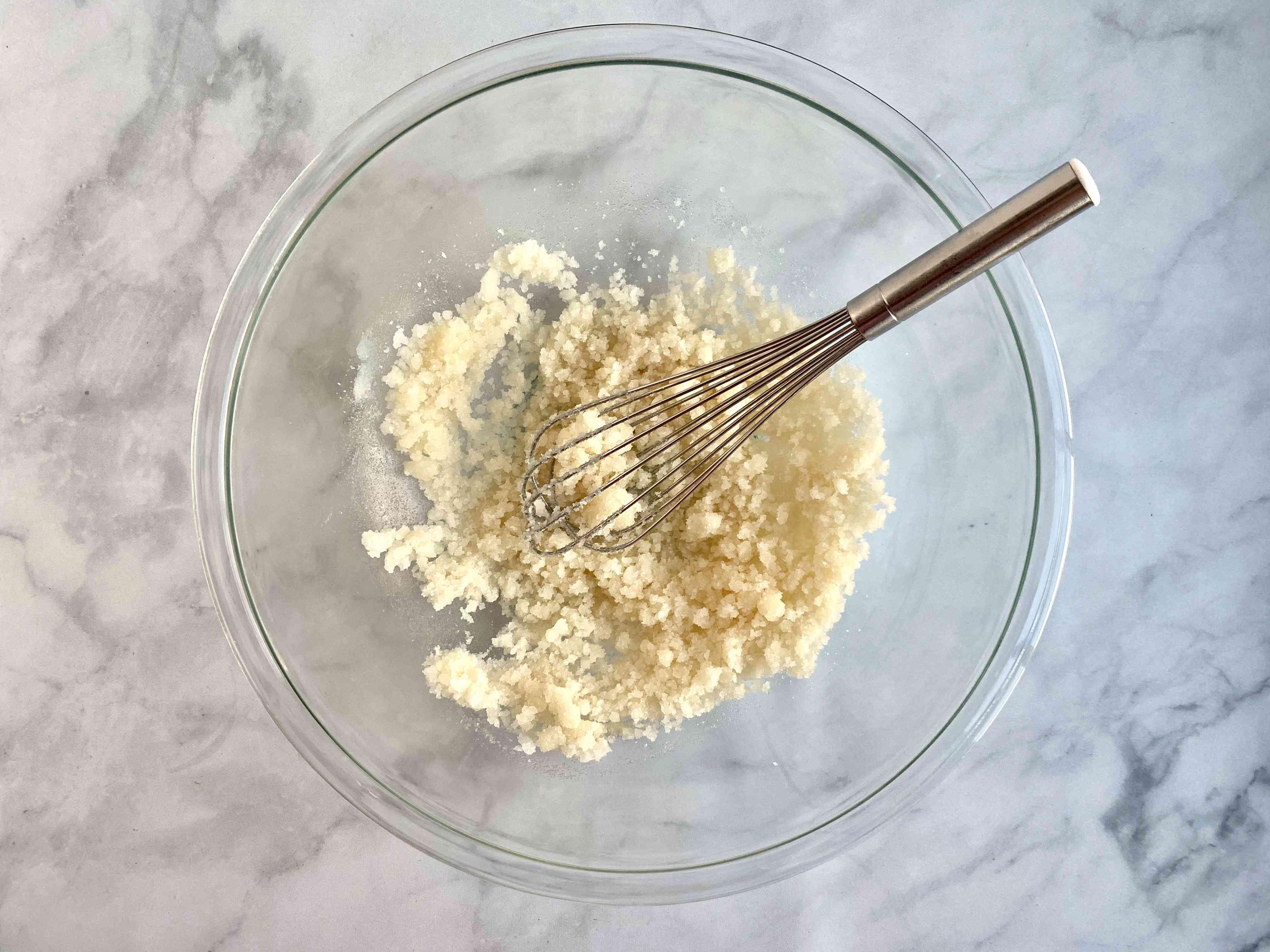 sugar, oil and vanilla