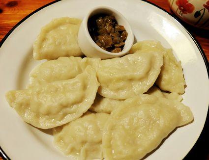 Polish dumplings (Pierogi)