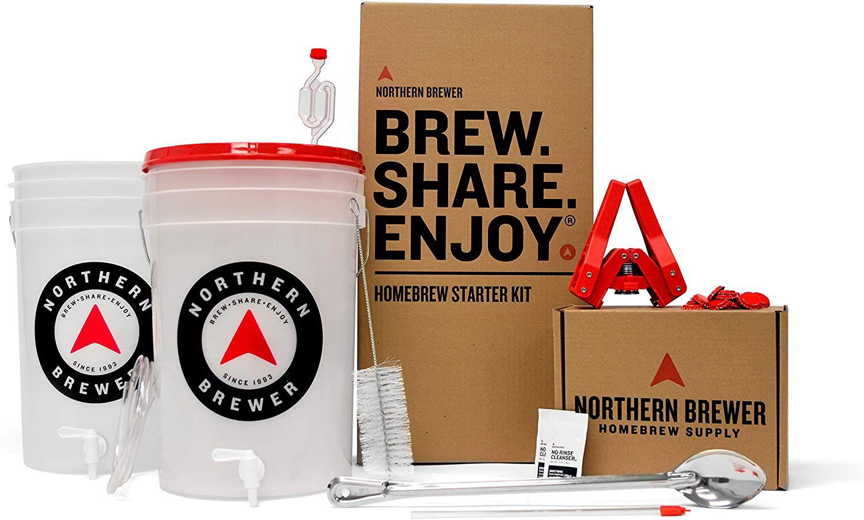 Northern Brewer Brew. Share. Enjoy. Homebrew Starter Kit