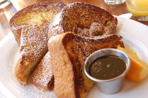 Golden Bread French Toast - Pain Dore