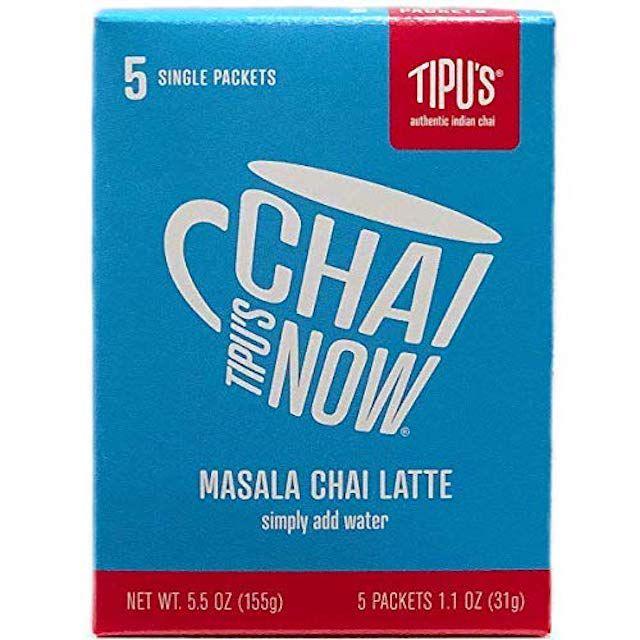 Tipu's Chai Now Single Serve Masala Chai Latte Powder