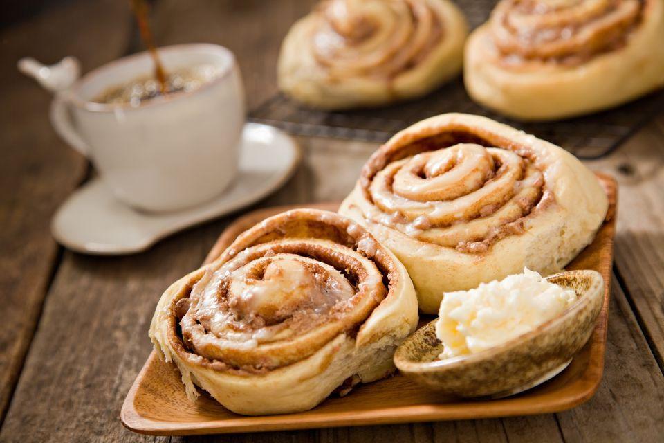 Sour Cream Cinnamon Rolls