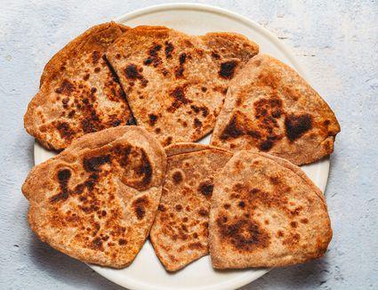 Parathas (Pan-Fried Indian Flatbread)