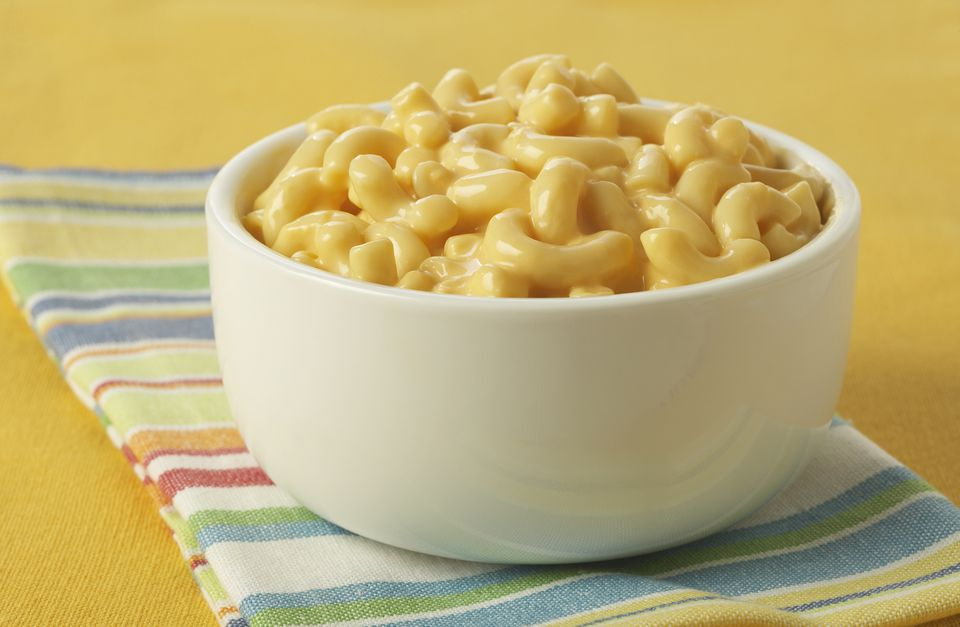 Macaroni and Cheese in Bowl