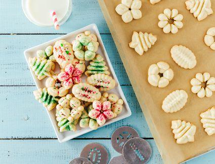 Cookie Press Butter Cookies
