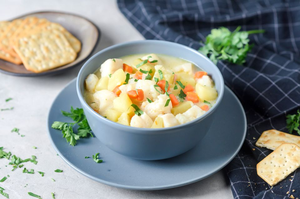 Creamy Fish Chowder Recipe