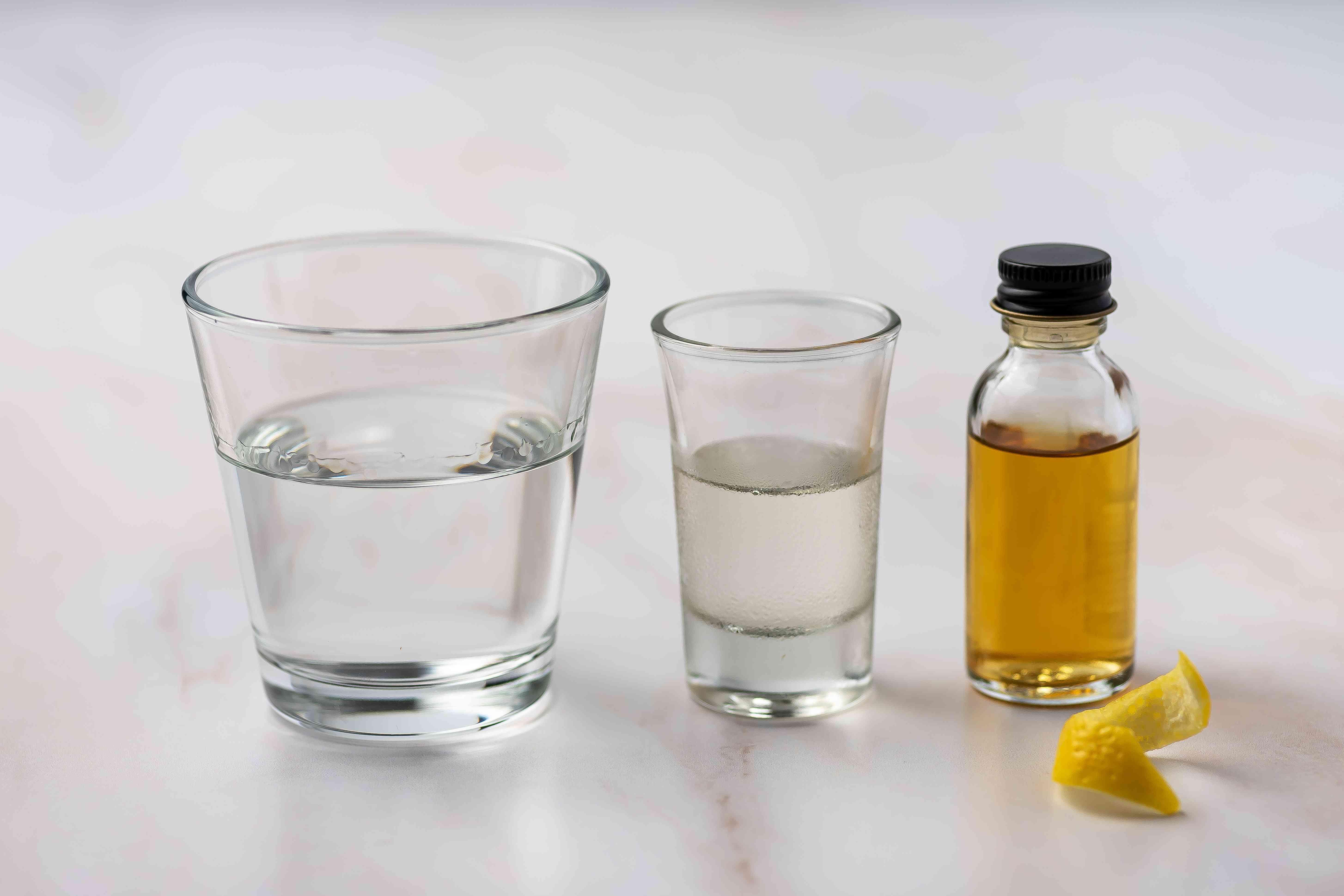 Tequini (Tequila Martini) ingredients