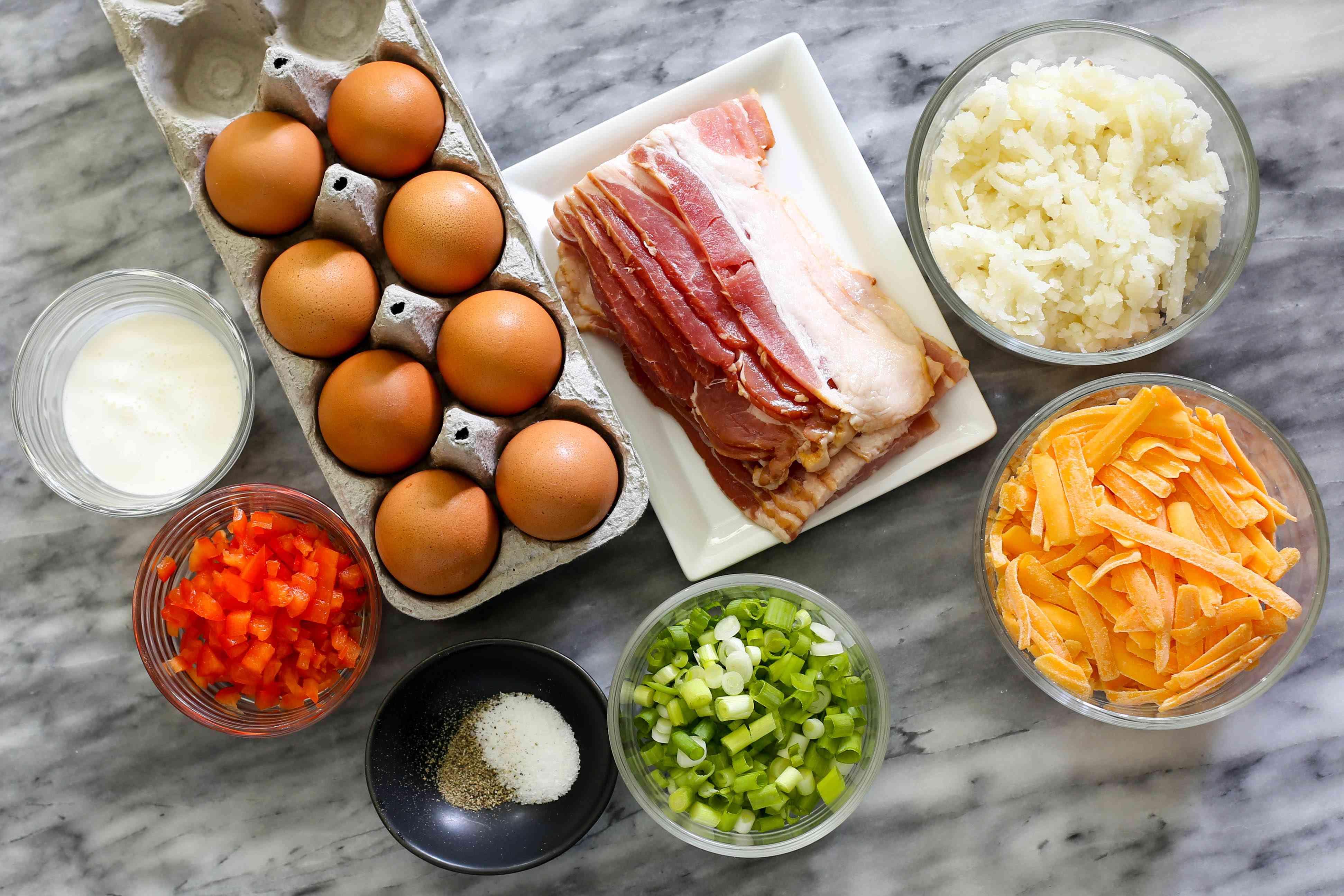 ingredients for instant pot breakfast casserole