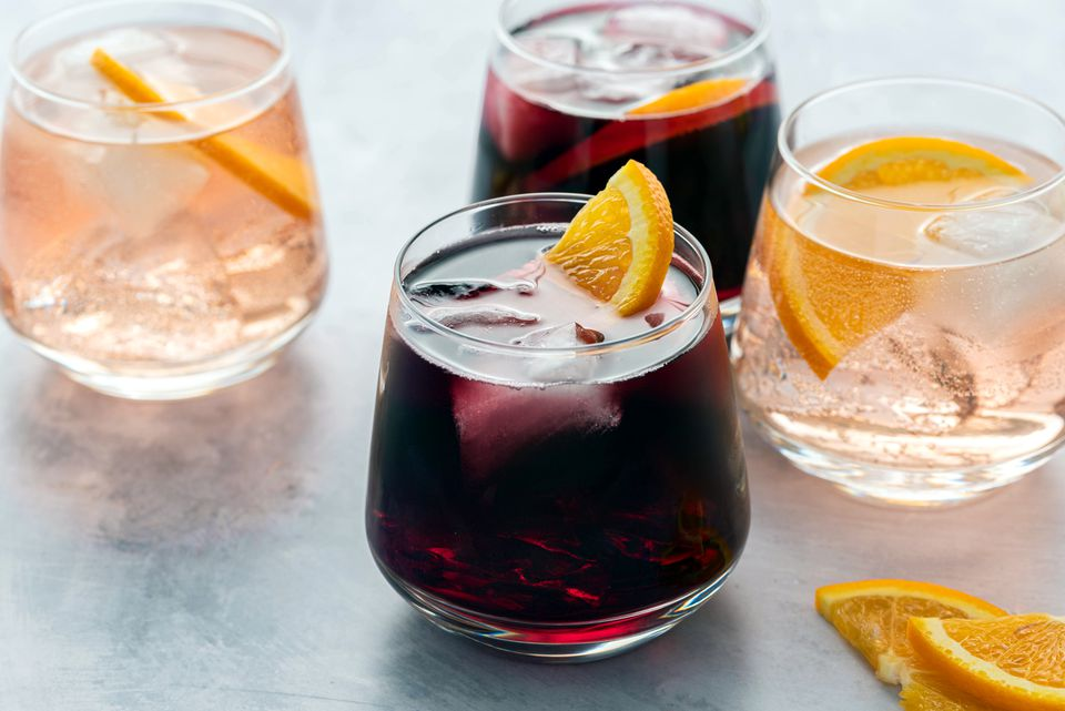 Easy Wine Spritzer