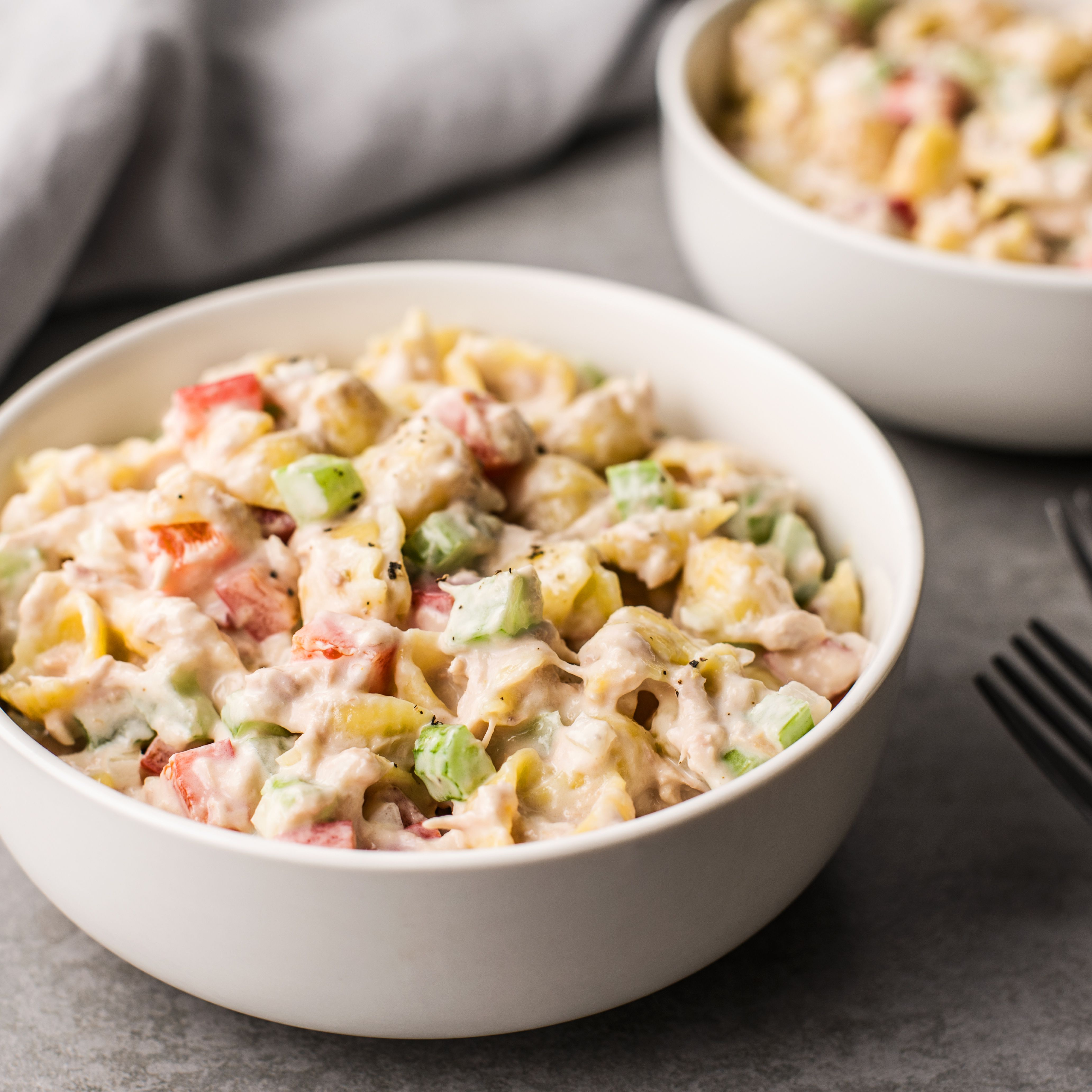 Simple Tuna Macaroni Salad Recipe