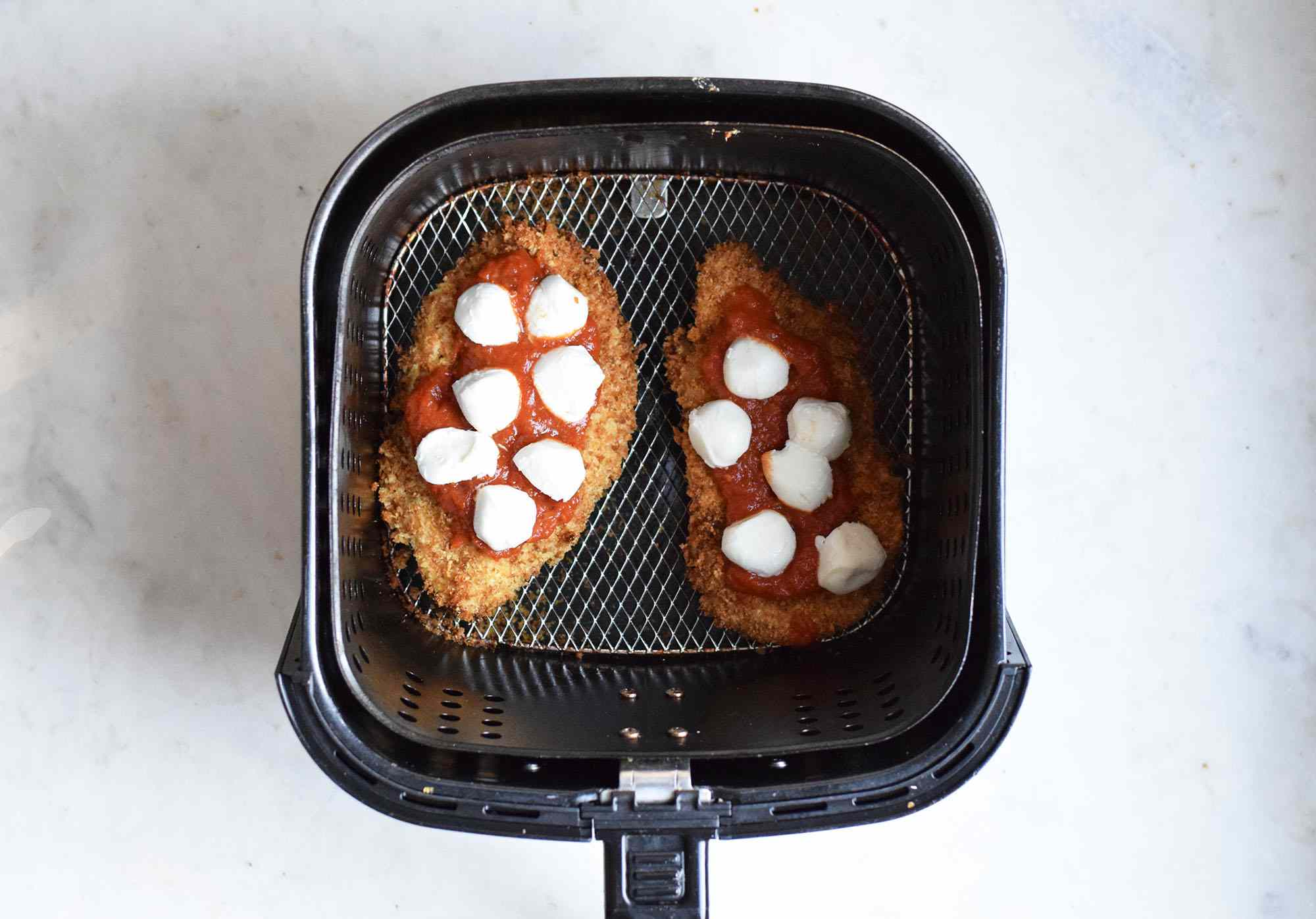 chicken parm in a air fryer