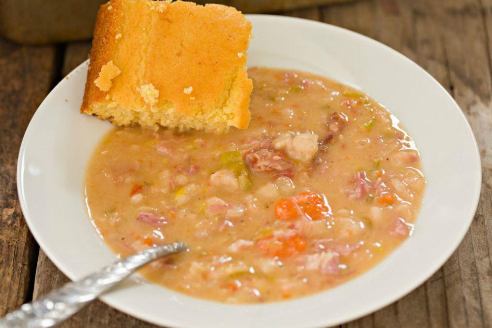 Senate Bean Soup With Ham