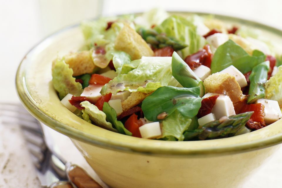 Tossed Salad With Croutons