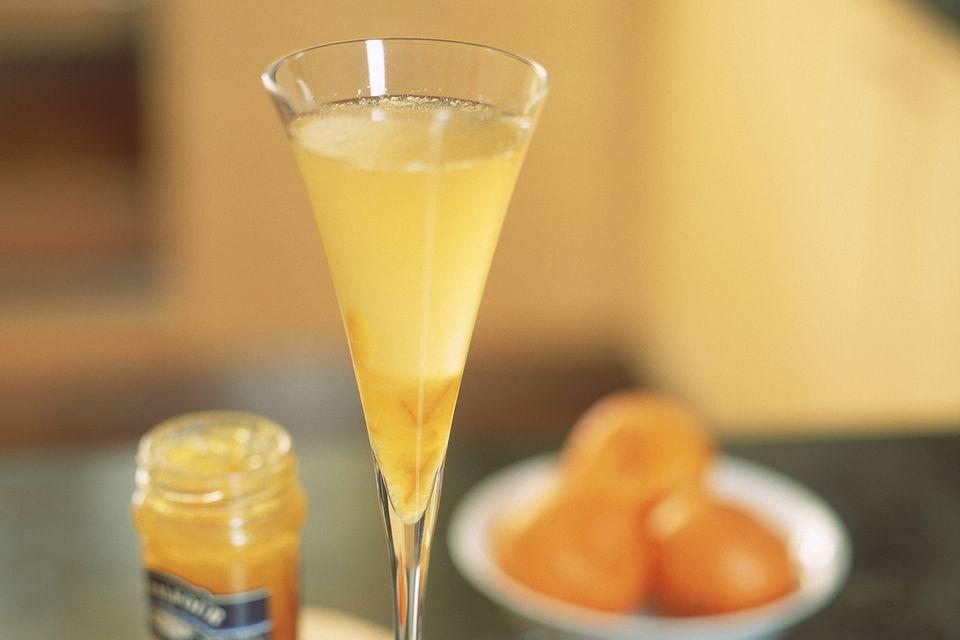 Receta de Baby Bellini con sabor a durazno sin alcohol