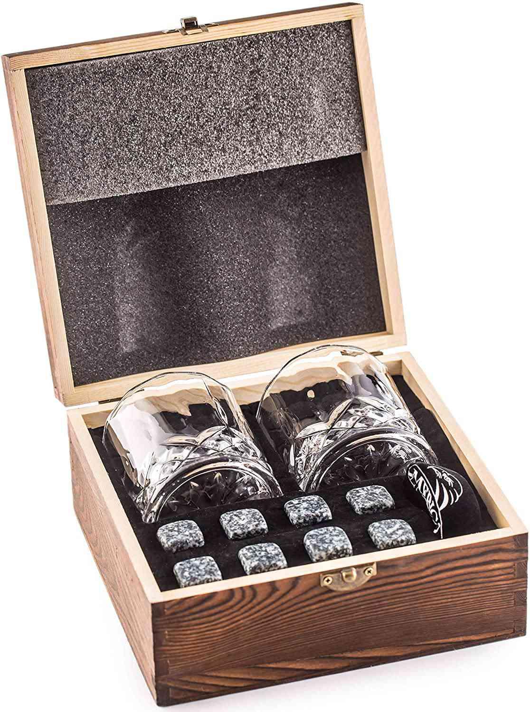 Amerigo Impressive Whiskey Stones Gift Set