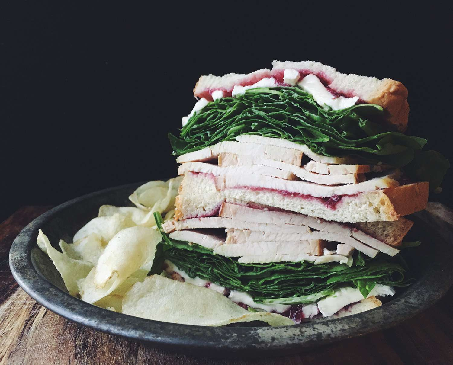 Turkey, Brie and Cranberry Sandwich Recipe