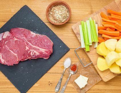 ingredients for chuck steak