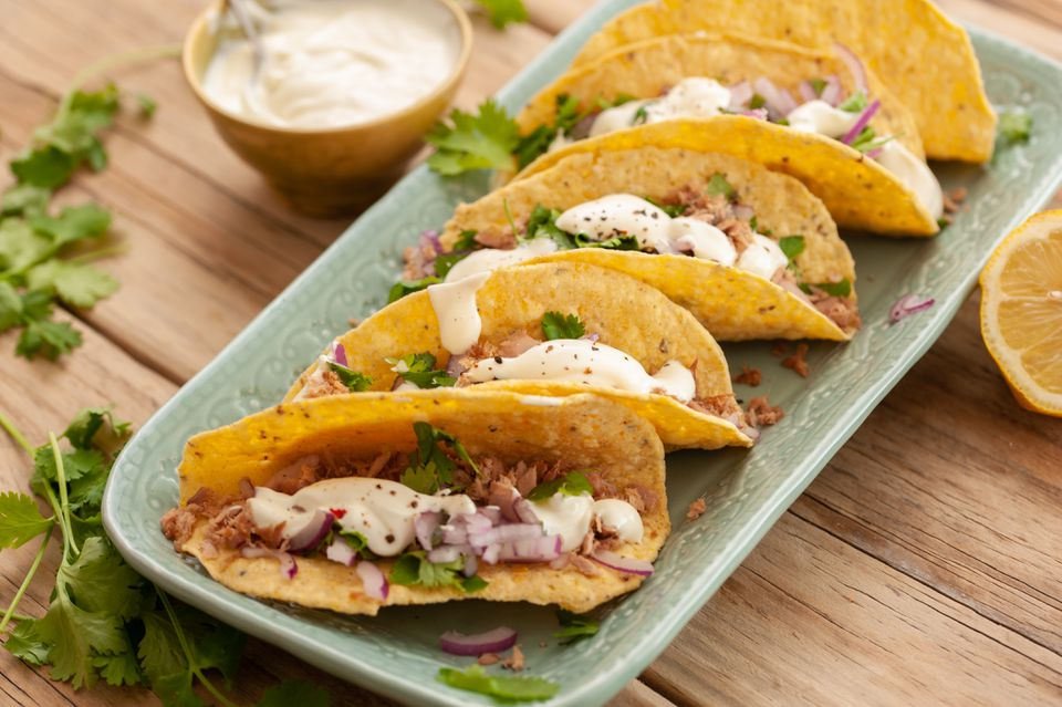 Canned tuna fish tacos recipe