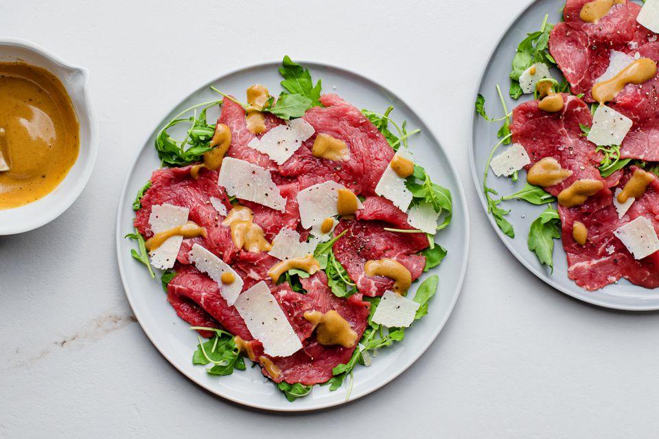 Delicious Italian Carpaccio