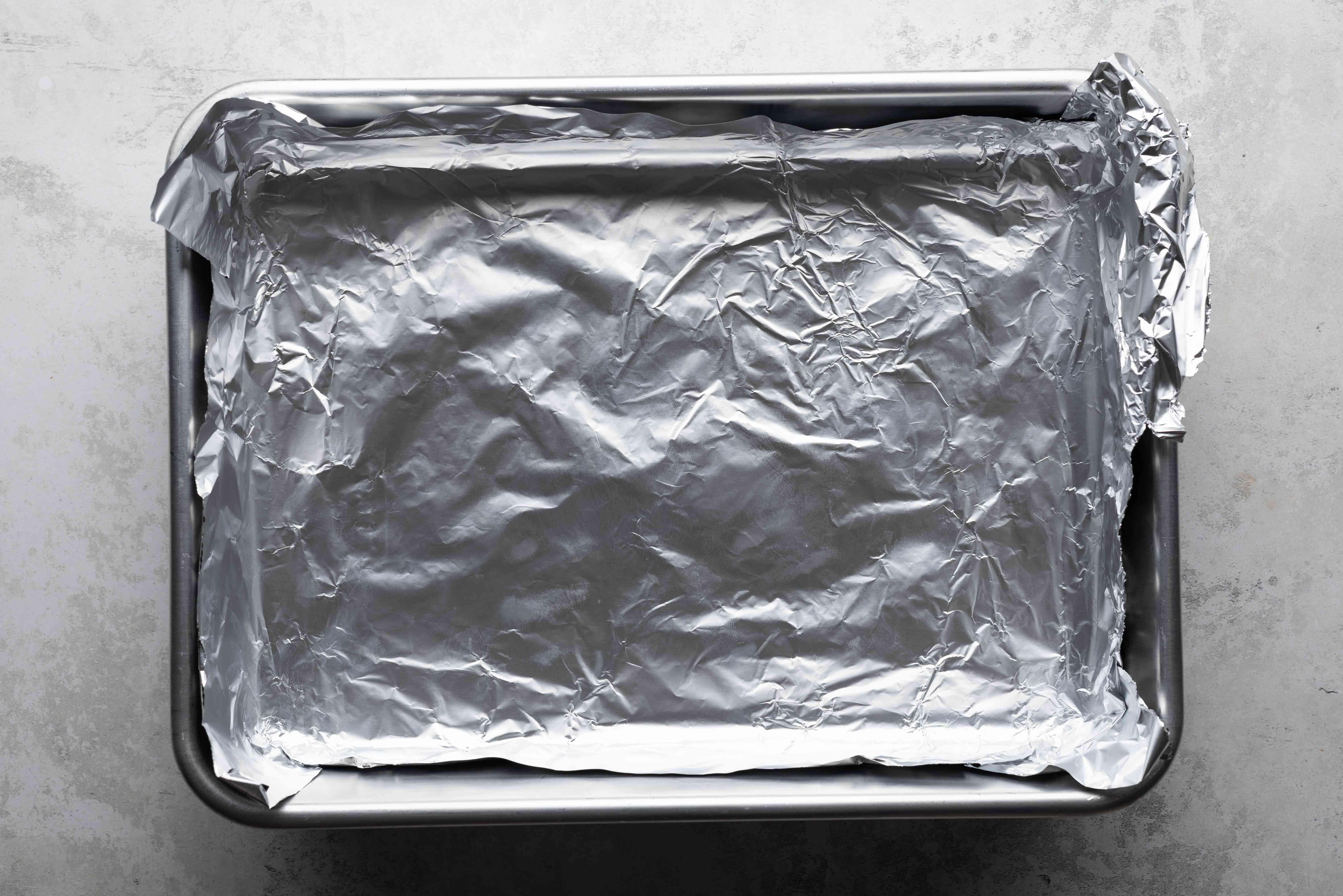 aluminum foil baking pan
