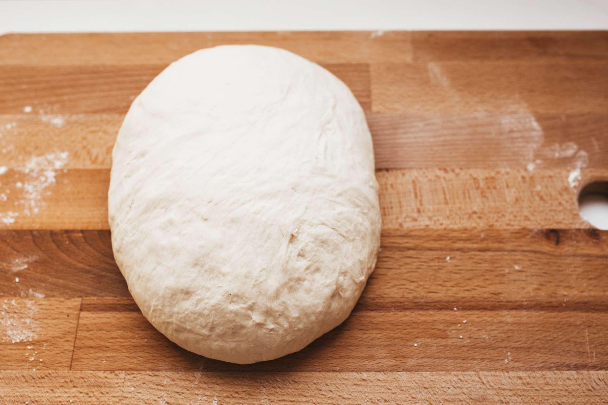 Dough in ball