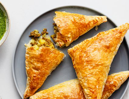 Indian Curry Puffs