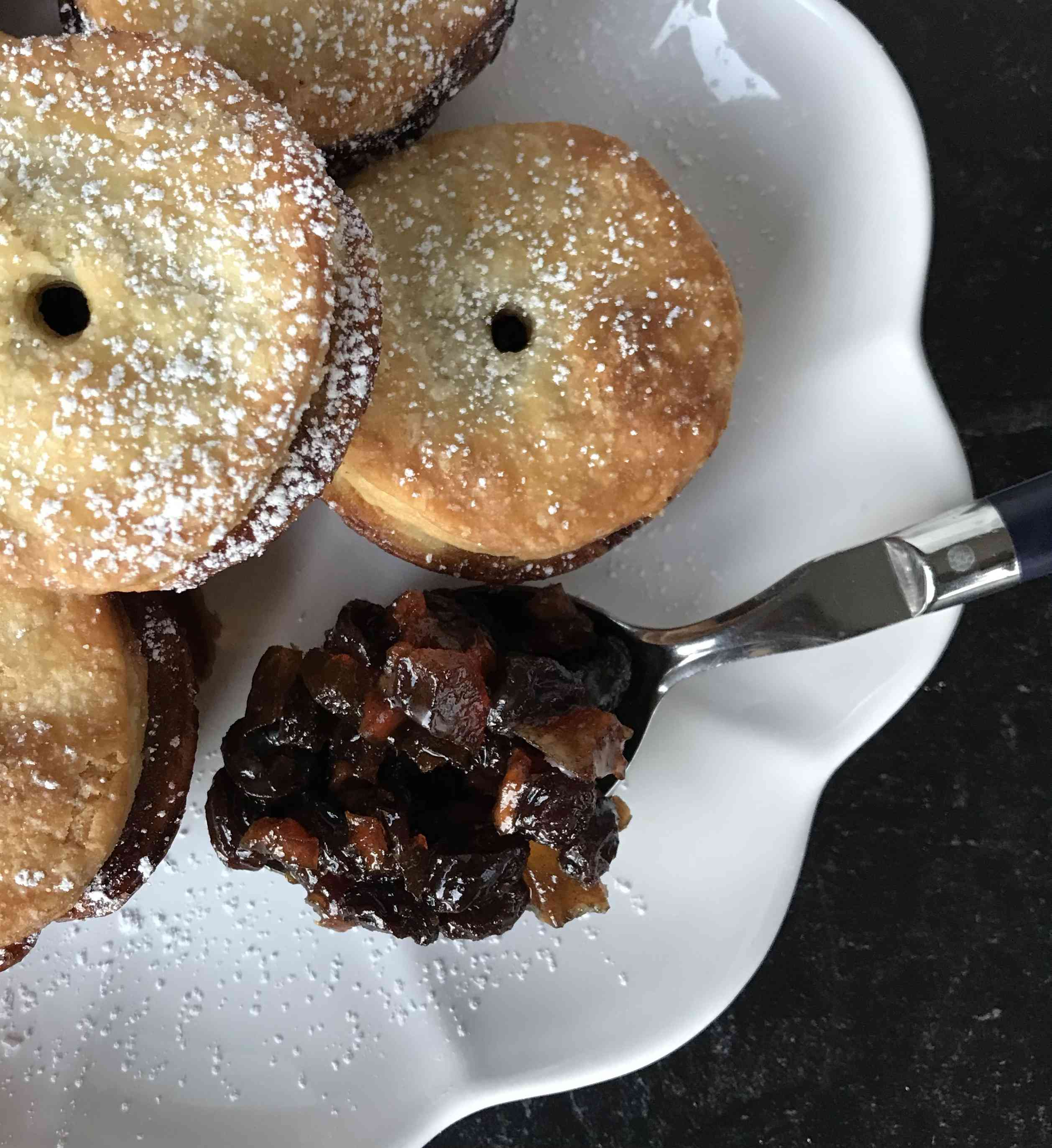 Traditional British Mince Pie Test Image