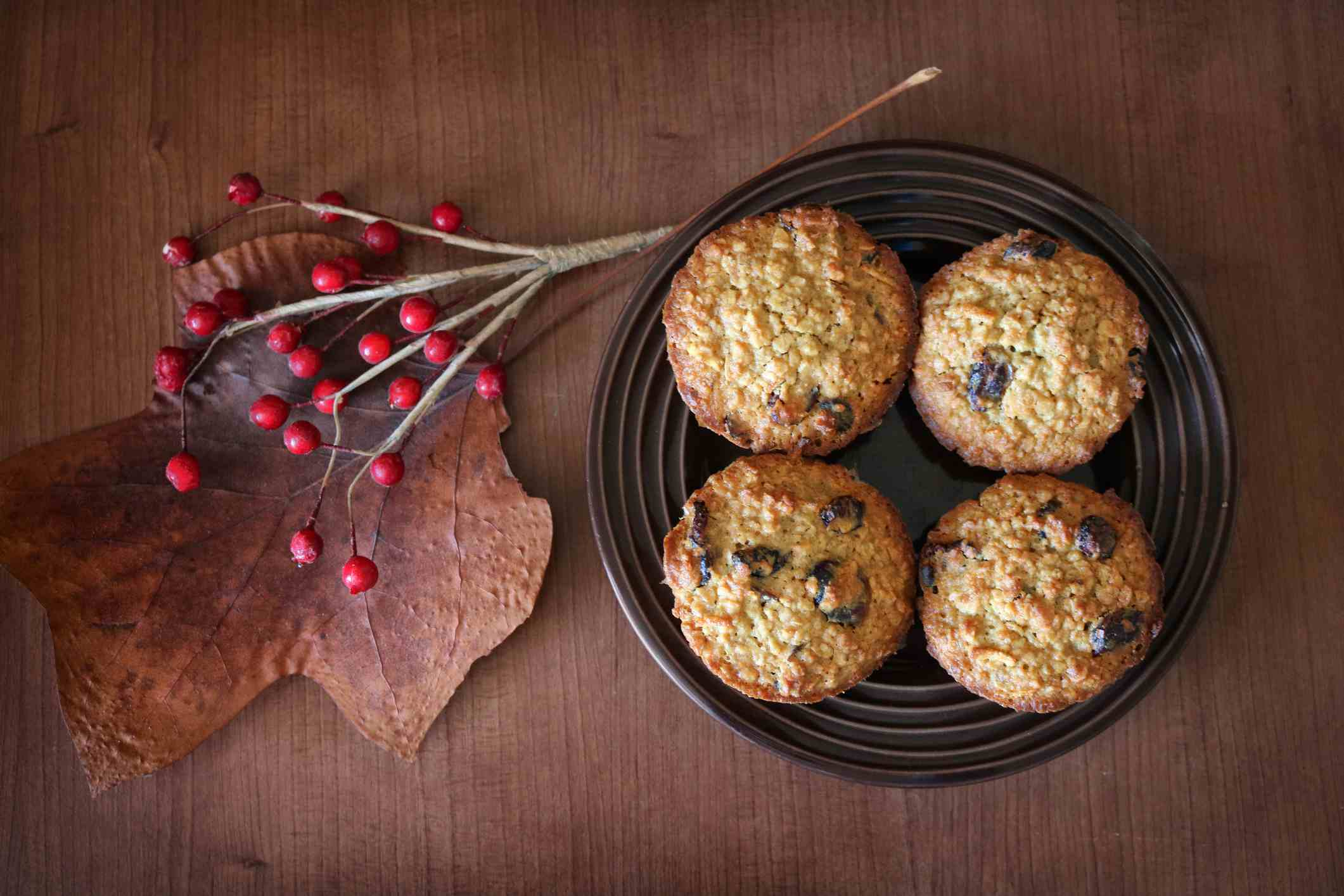 oatmeal cranberry cookies - Easy Christmas Cookies For Kids