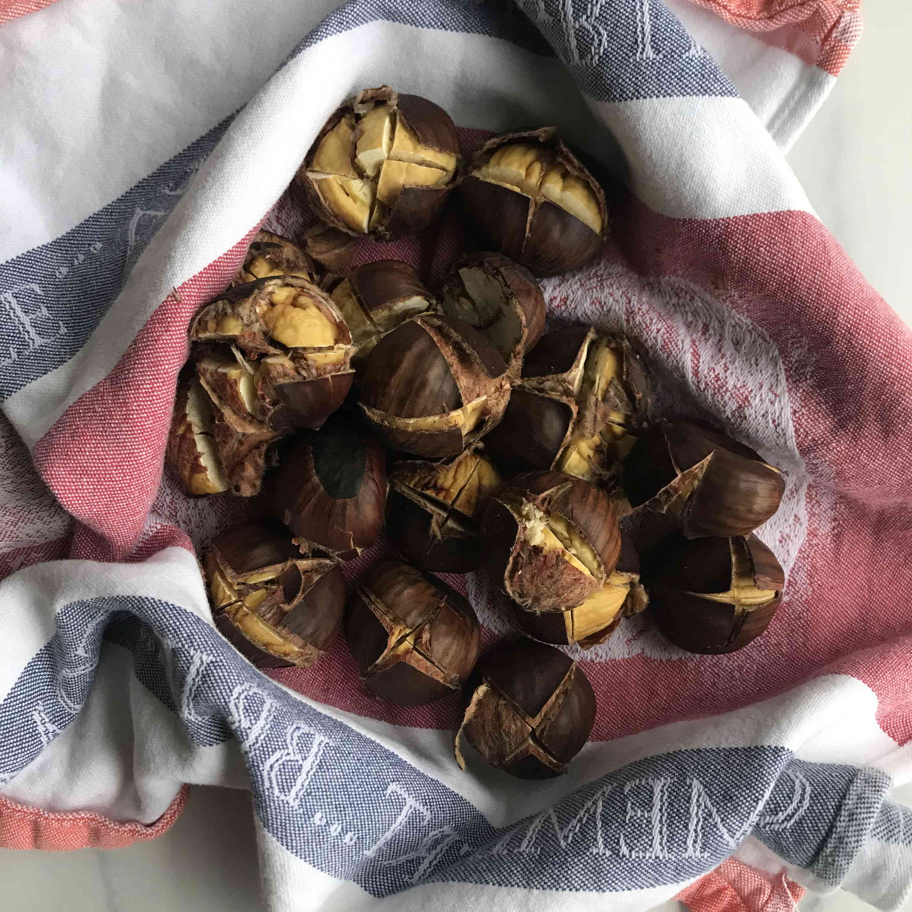 How to Roast Chestnuts in the Oven Tester Image