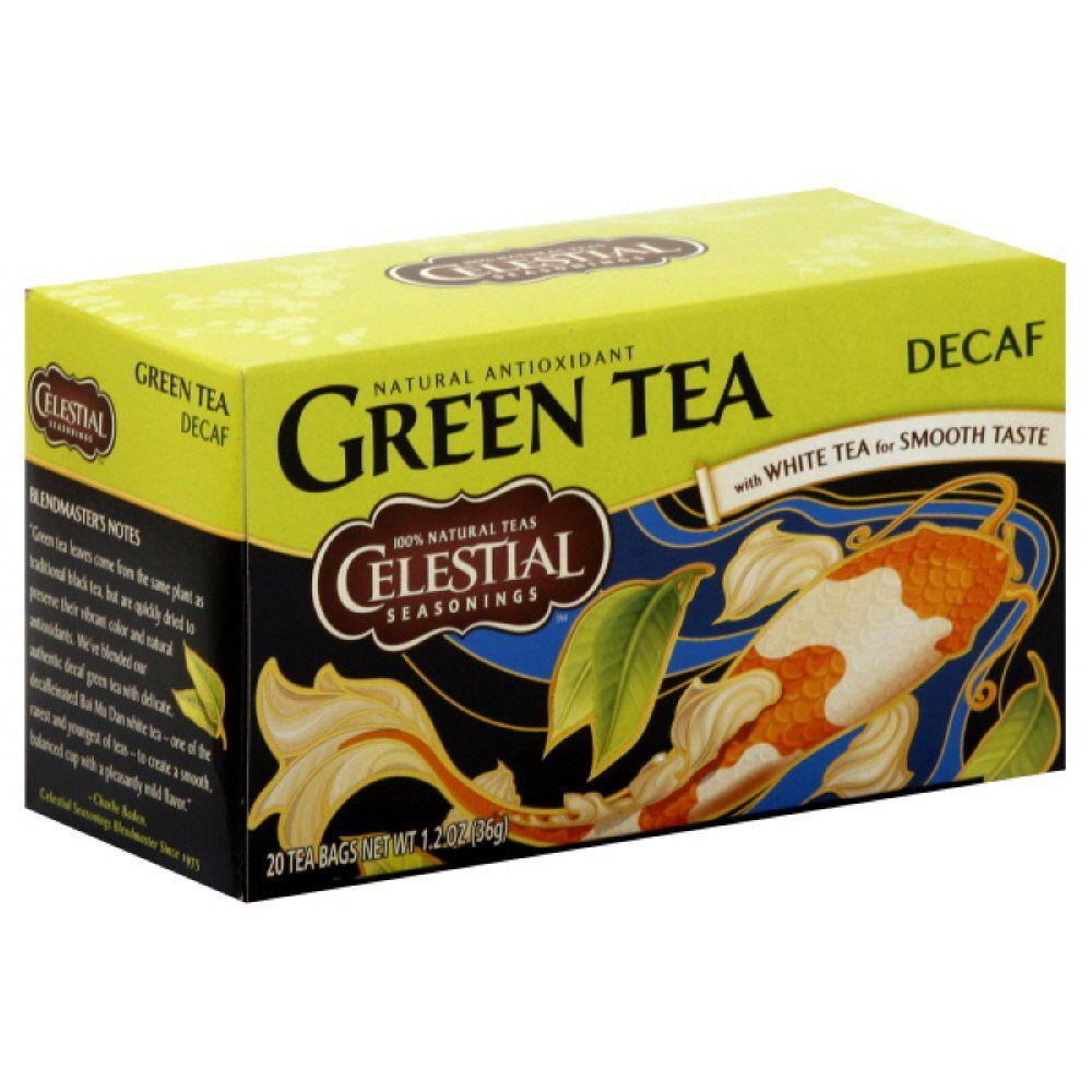 Celestial Seasonings Decaf Green Tea