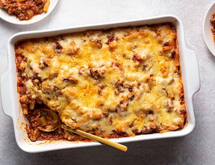 Macaroni and Beef Casserole