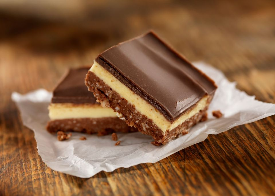 Easy Nanaimo Bar Cookies