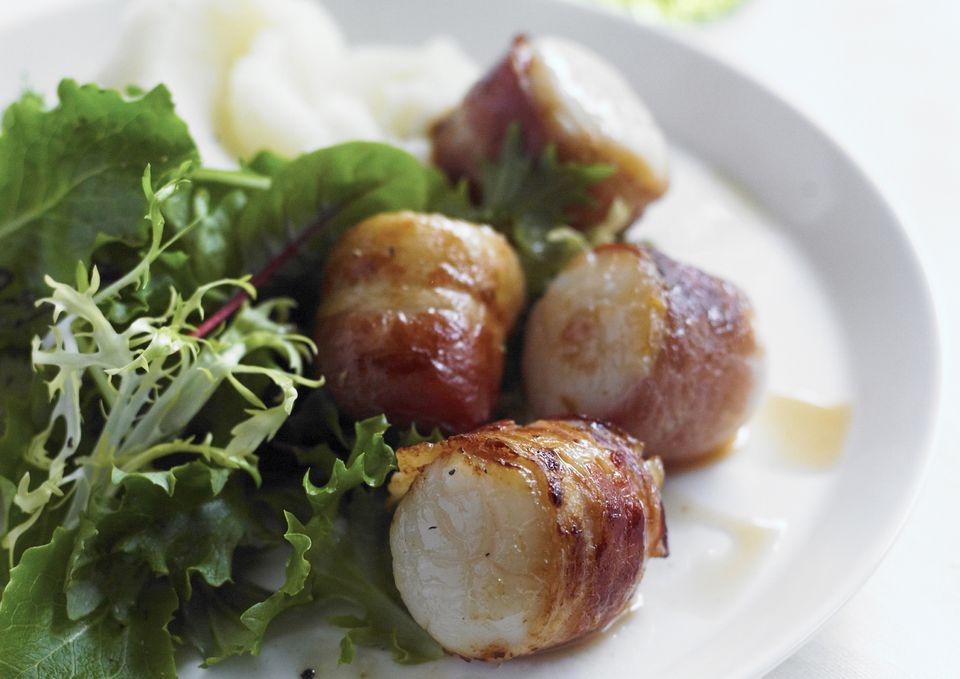 how to make bacon wrapped scallops in oven