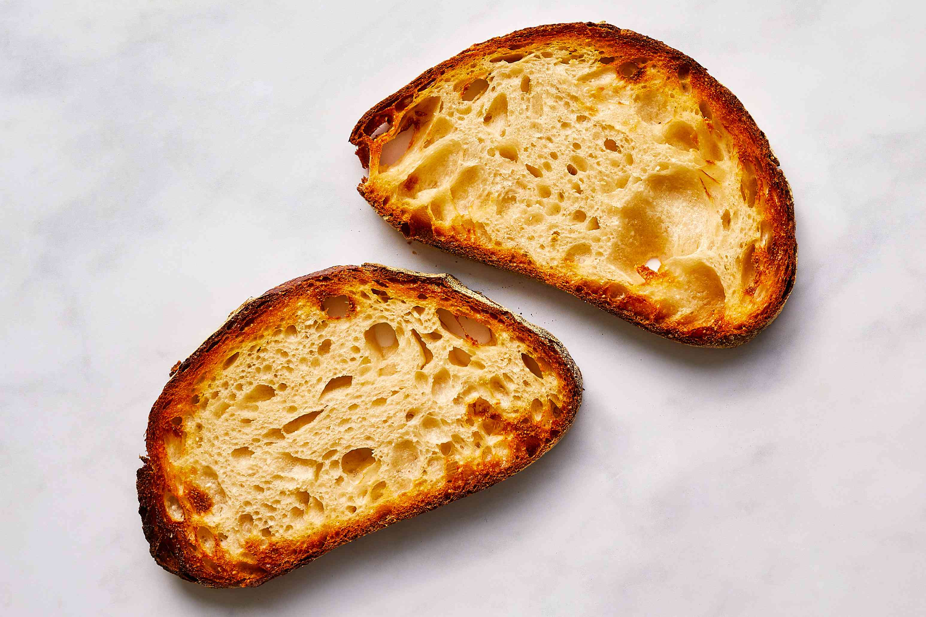 toasted sourdough bread