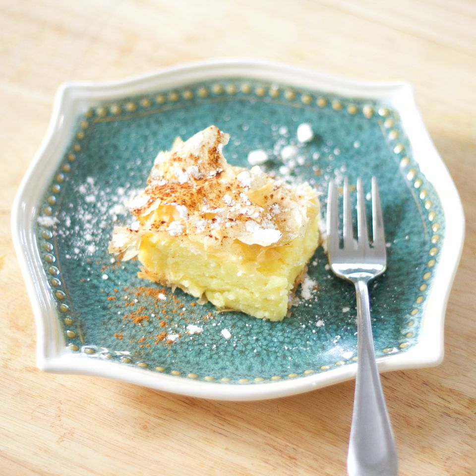 Bougatsa Custard Pie