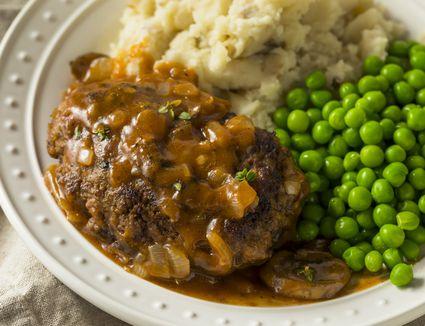 Stovetop Salisbury Steak