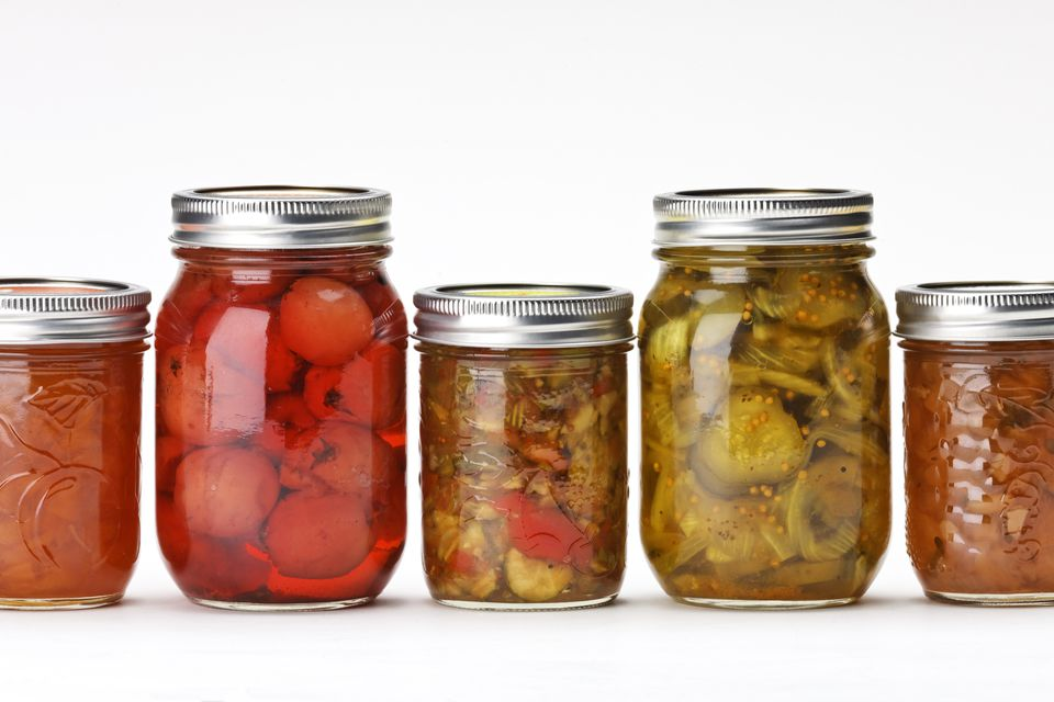 Home Canning Preserves and Relishes