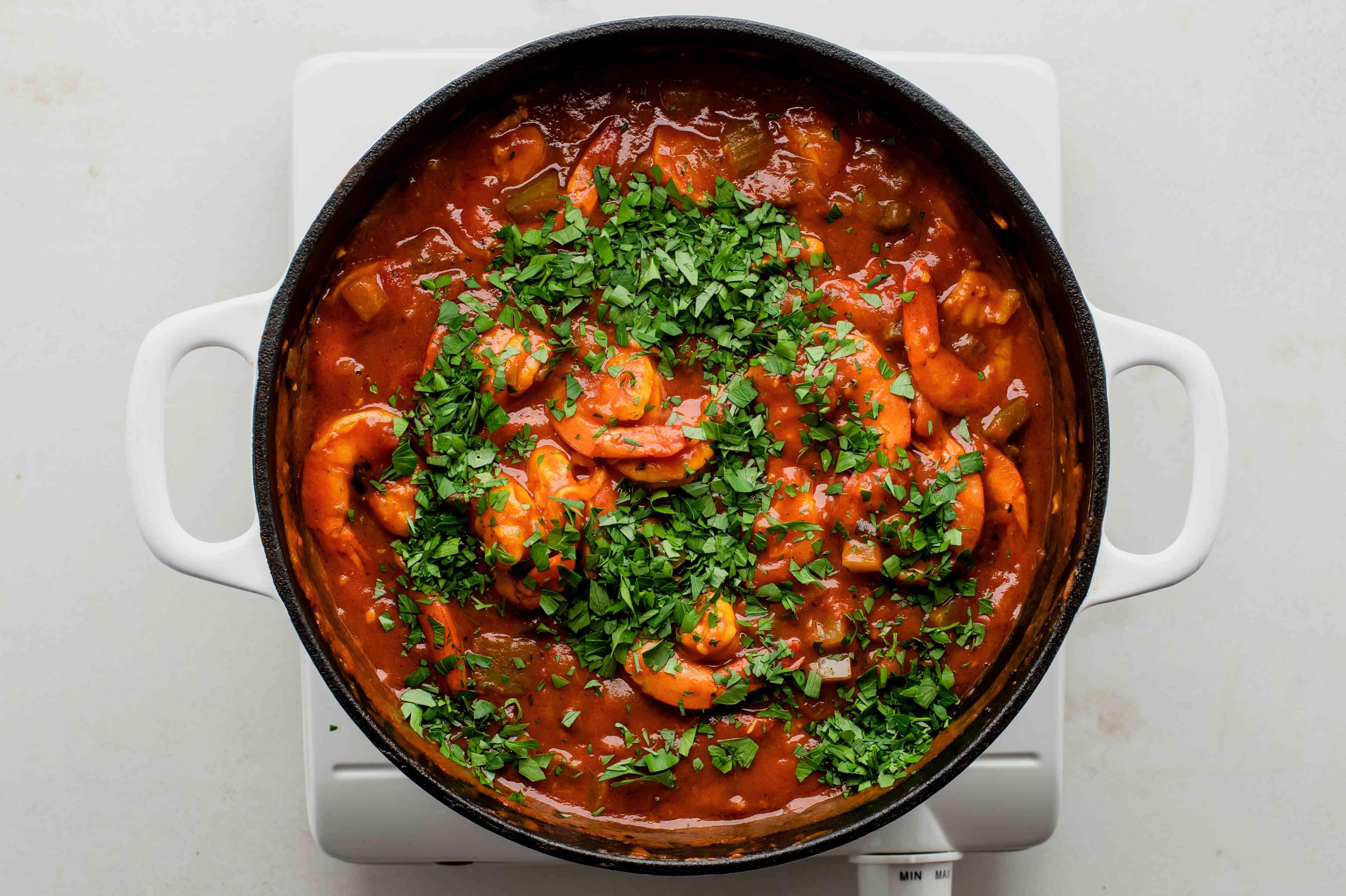 Stir in parsley