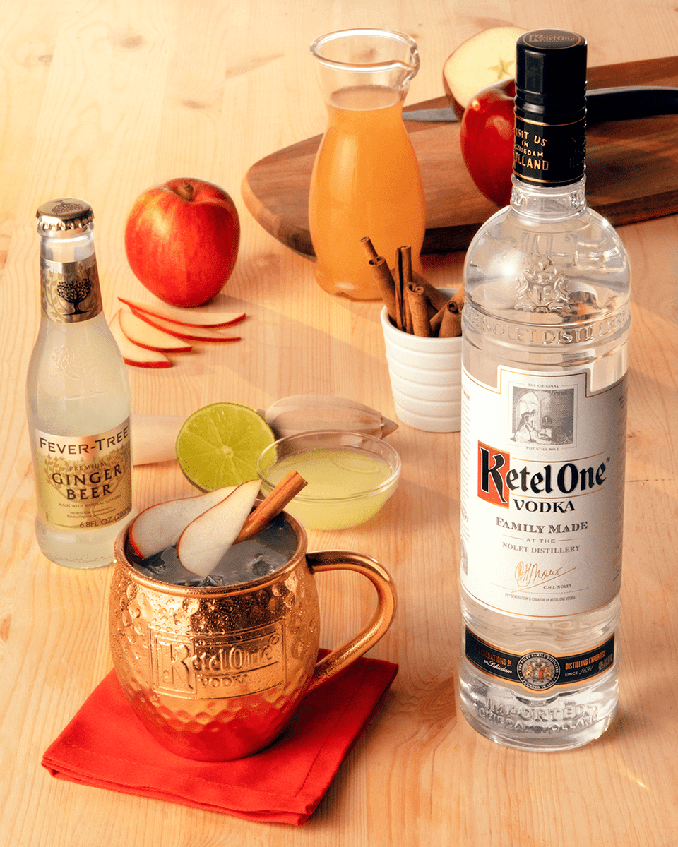 Ketel One Vodka Apple Cinnamon Mule