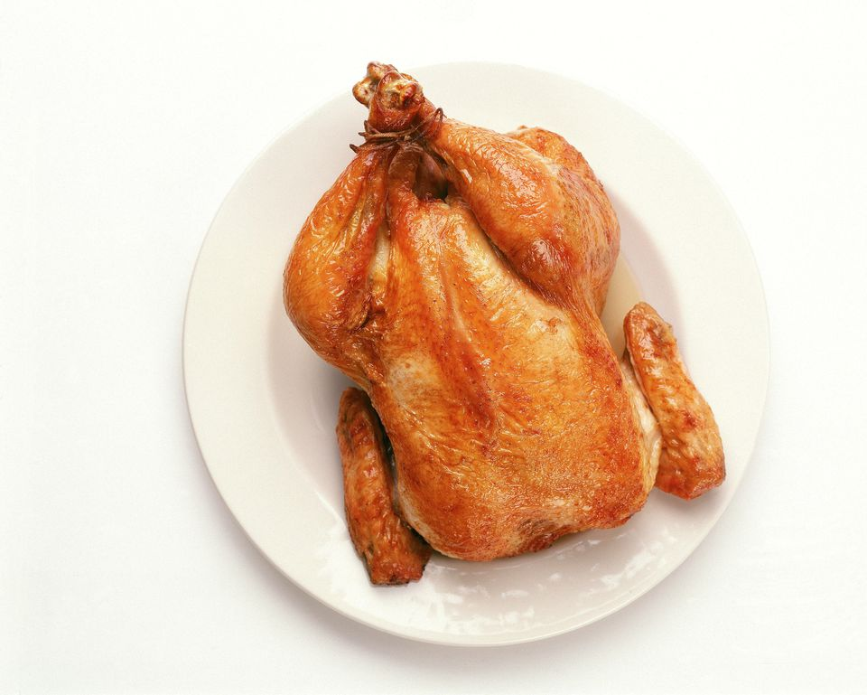 Five-Spice Rotisserie Chicken