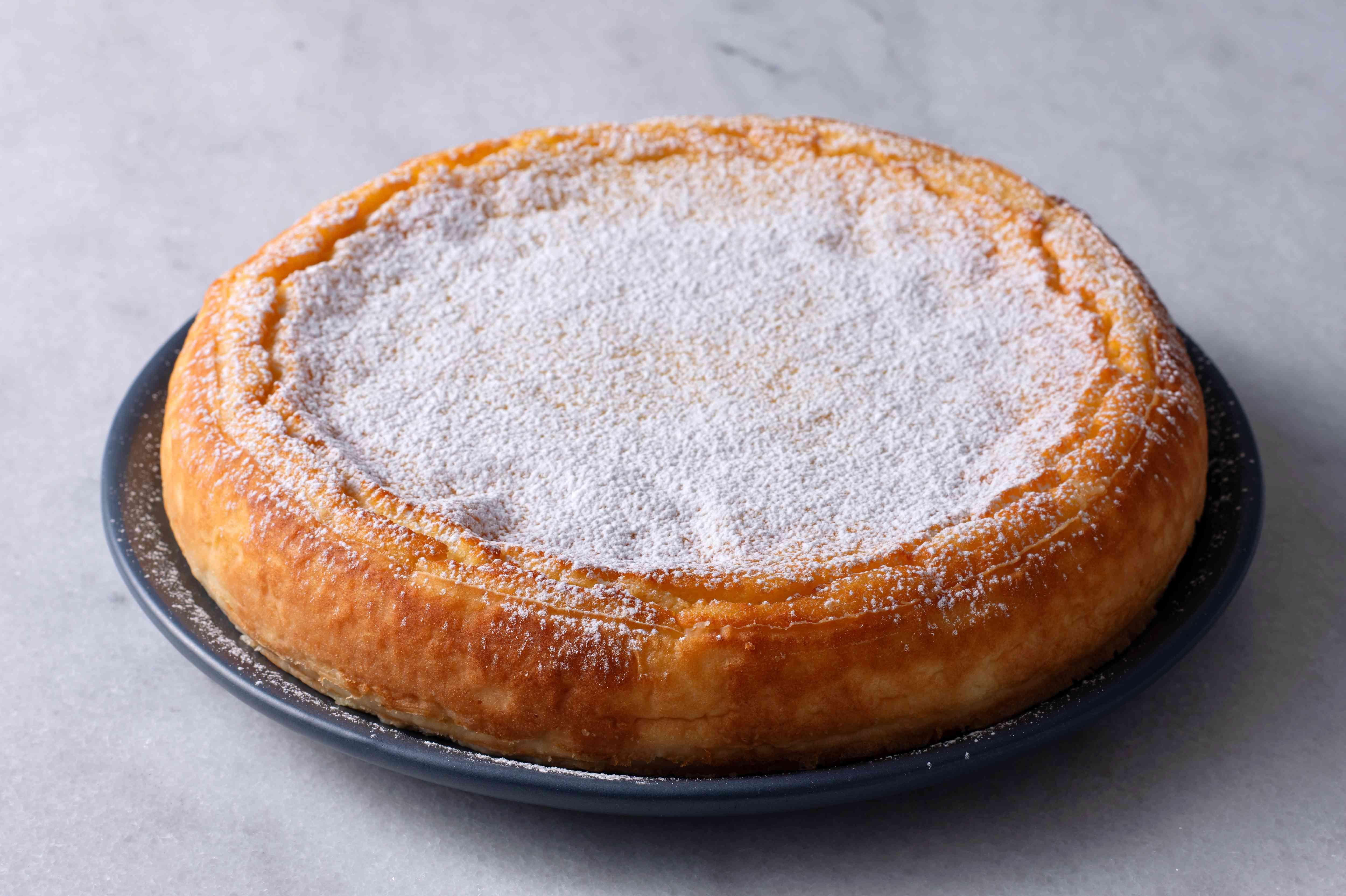 Naples-Style Lemon Ricotta Cake (Migliaccio)