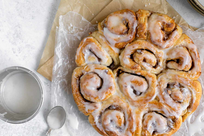 Easy Cinnamon Rolls Using Frozen Bread Dough